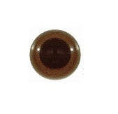 Safety Eyes - brown - 9 pairs - 12.5 mm