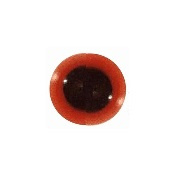 Safety Eyes - orange- 10 pairs - 8 mm