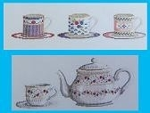 Thee Set - Tea Set