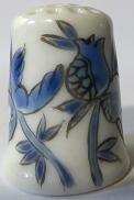 Vingerhoed - 091 - bloemen - Thimble - flowers