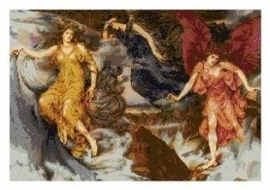 CSPG - Evelyn De Morgan - De Storm Geesten - The Storm Spirits