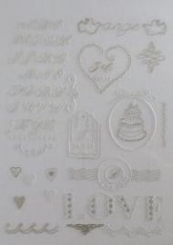 DMC - Mes Premiers Pas - En broderie blanche - Wit borduren - White embroidery
