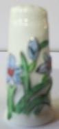 Vingerhoed - 051 - bloemen - Thimble - flowers