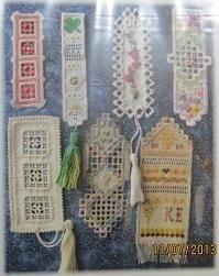 Nordic Needle - Hardanger - Bookmarks I