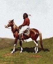 Scarlet Quince - Frederic Remington - Comanche Krijger - Comanche Brave, Fort Rene, Indian Territory
