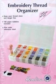Kunststof doos met 7 vakjes - I - Clear box with 7 spaces
