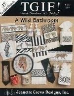 Jeanette Crews - Een Wilde Badkamer - Wilde Dieren - A Wild Bathroom - Wild Animals