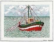 Fishing boat  aida