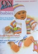 Online - Breiboek baby`s - Knitting book, Babies