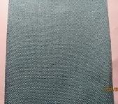 Linen turquoise 27ct evenwave - 12 cm