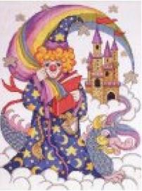 Susan Ives - Tovenaar (clown) - The Wizard  aida