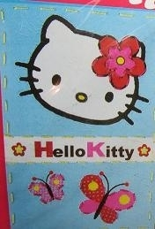 Hello Kitty - Borduur kaart - Stitch your card