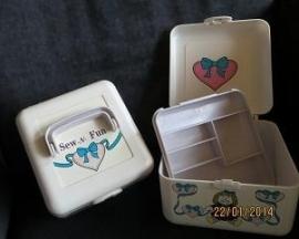 Naaibox voor kinderen - Sewing box for children