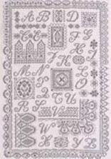Kant Merklap - Lace Sampler