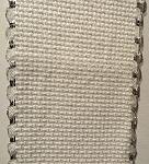 White and silver 16ct aida - 5 cm