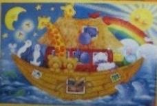 Stitching World - Beth Vincent - Ark van Noach - Noah`s Ark