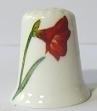Vingerhoed - 059 - porselein - bloem  - Thimble - flower