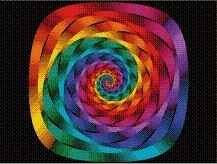 Cross Stitch Collectibles - Fractal 149