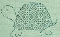 Butterfly Stitches - Connie Ewbank - Blackwork - Little Turtle