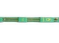 10 mm - bamboo - 33 cm
