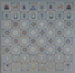 Reflets de Soie - Echiqueier Sampler - Schaak Sampler - Chess Sampler