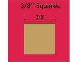 3/8 inch - Squares