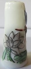 Vingerhoed - 050 - bloemen - Thimble - flowers