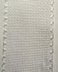 Witte aïda 6.3 - Band 5 cm - White aida 16ct