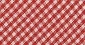 Biais binding tape - red gingham - 20 mm