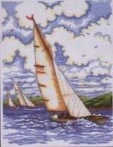 Zeilende Boten - Yachting  aida