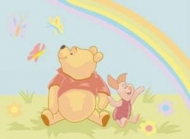 Disney - Canvas - Winnie and the rainbow