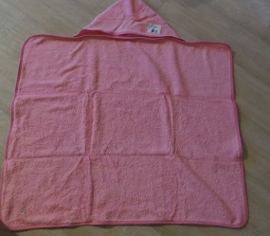 Baby bad cape - roze - Baby cape - pink