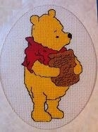 Disney - Kaart - Pooh - Chart aida