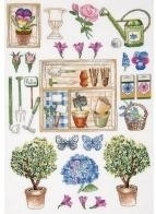 In de Tuin Merklap - In the Garden Sampler