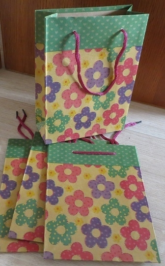 Gift bags - 5 pcs