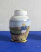 Miniatuur bolle Vaas, hoog - 04 - Miniature round Vase, high
