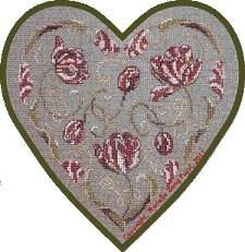 Filigram - Tulpen Hart - Tulip Heart
