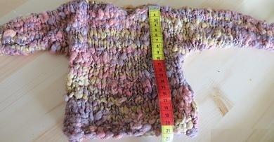 Zijden Mini Trui - 1 - Silk Mini Sweater
