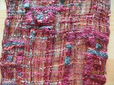 Zijden sjaal - A - Silk Scarf