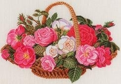 Mand met Rozen - Basket with Roses