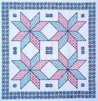Butterfly Stitches - Blackwork - De sterren zien - Seeing Stars
