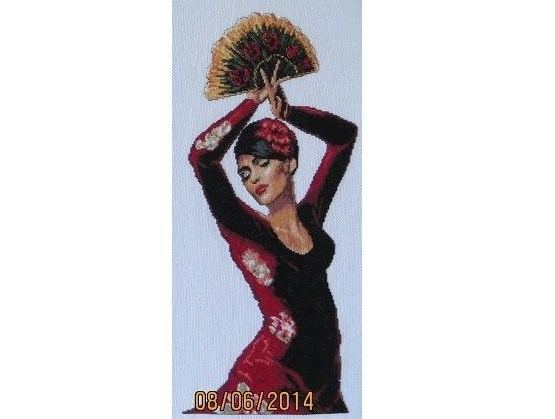 Spanish Flameco Danser - finished