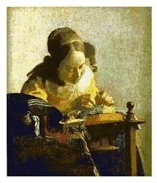 CSPG - Johannes Vermeer - De Kantklosster - The Lacemaker
