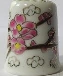 Vingerhoed - 076 - bloemen - Thimble - flowers
