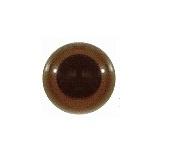 Veiligheids Ogen - bruin - 4 paar - 15 mm - Safety Eyes - brown - 4 pairs