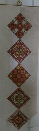 Jewelflower® - Schellenkoord Oekraïne - Bell pull Ucrain