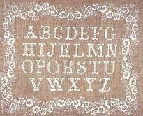 Wit Alfabet - White ABC