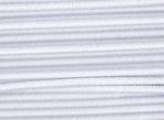 Thin cord elastics - white 1.4 mm