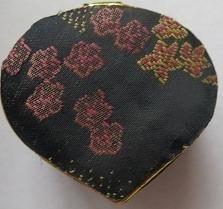 Doosje hartvormig - zwart - Little box heart - black