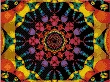 Cross Stitch Collectibles - Fractal 117